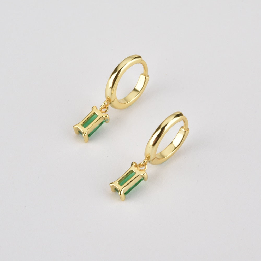 Gold Plated Mini Drop Earrings