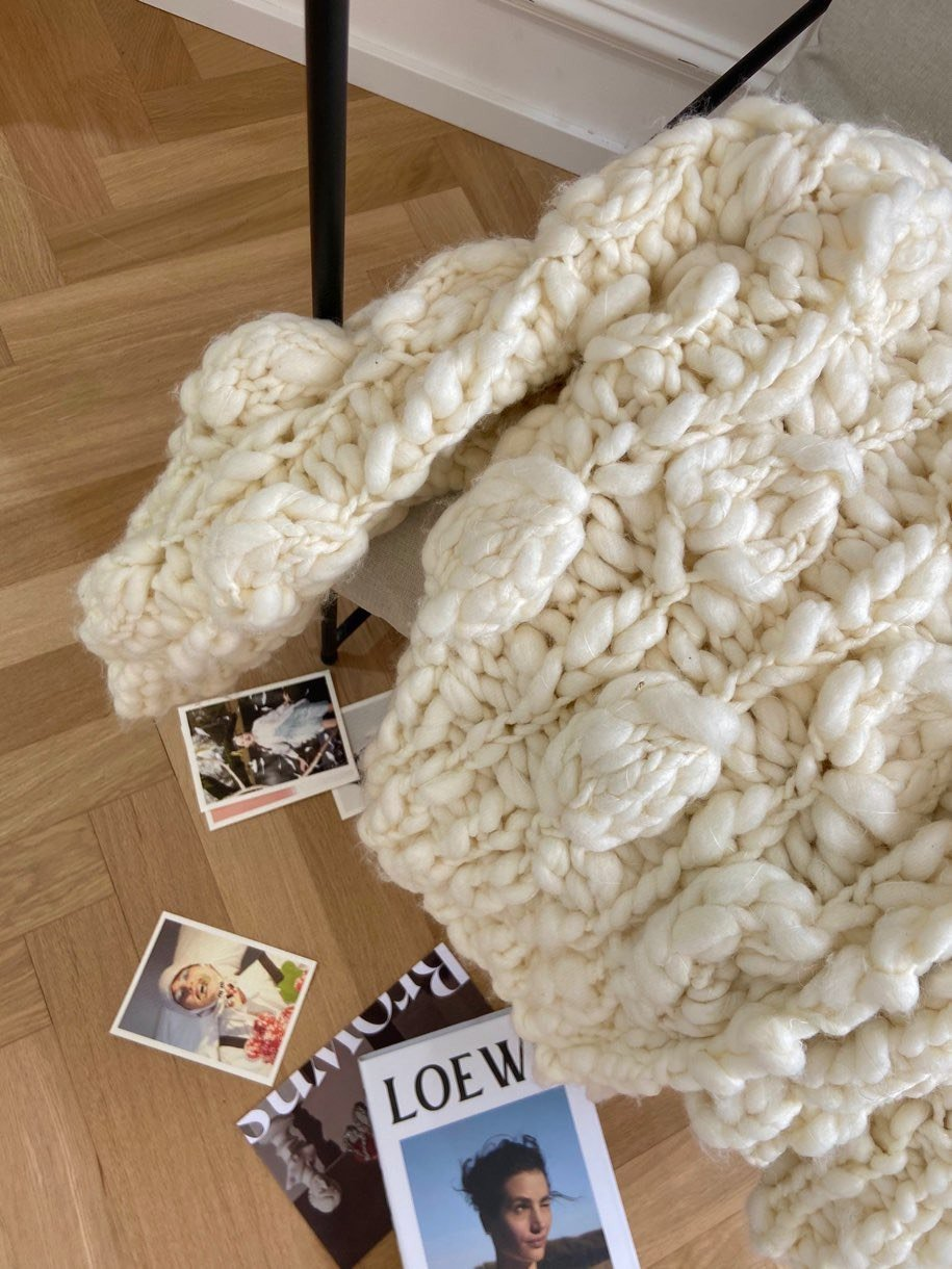 Handmade Oversize Wool Sweater