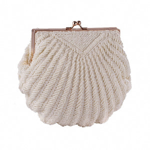 Pearl Shell Clutch Bag