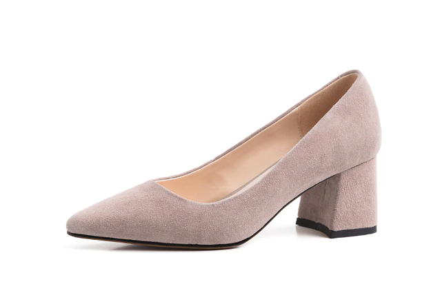 Pointed Toe Classic Suede Pumps