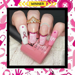 #4 Breast Cancer Awareness Theme: Winner @sopolished8