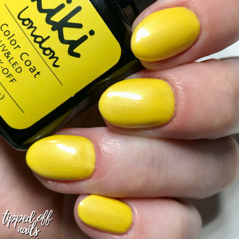 Yellow With a Shimmer