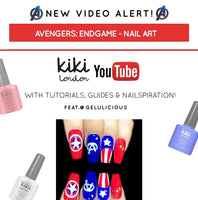 Get The Look: Avengers: Endgame Nail Art (With Tutorial)