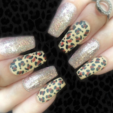 Get The Look: Nail Art: Leopard Print (With Tutorial)