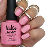 spring summer pink pastel pale muted dusk dusky rose rosey gel polish nails pretty natural neutral baby light