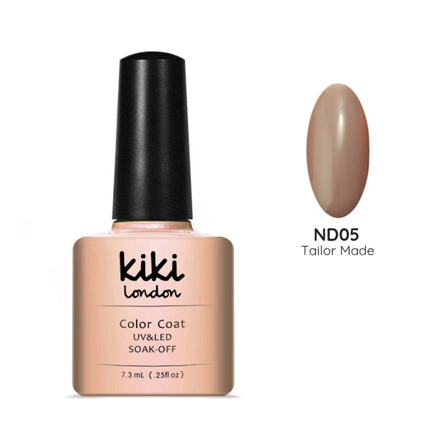 nude nails gel polish gellac gellack neutral natural nail nails simple dark tan