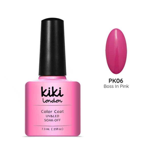 pink nails gel polish nail pretty pink manicure bright classic rose creme cream rosey