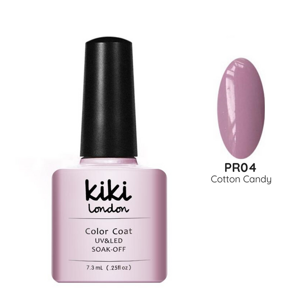 pink purple lilac baby cotton bright light pastel nails nail gel polish pale summer spring