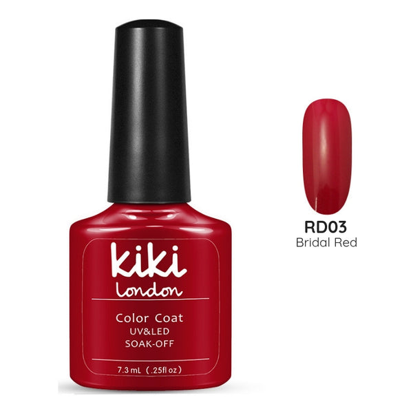 bride red nails gel polish nails nail bright deep high pigment staple
