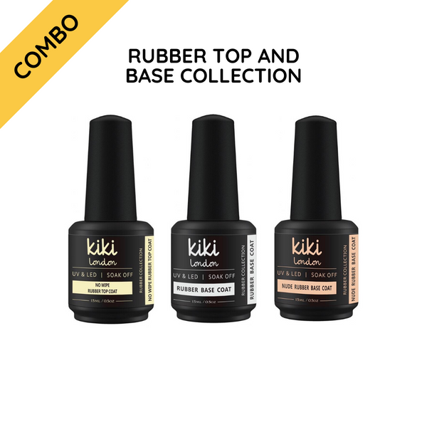 Rubber Top & Base Collection 15ml