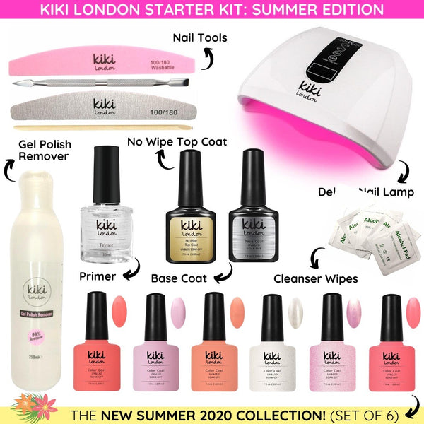 Kiki London Starter Kit: SUMMER EDITION