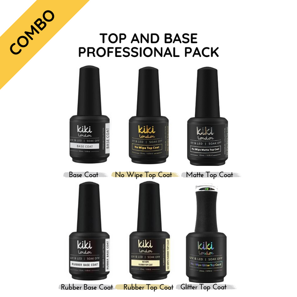 Top & Base Professional Pack 15ml (Set of 6)