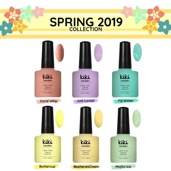 Spring Gel Polish Colours (2019 Edition)