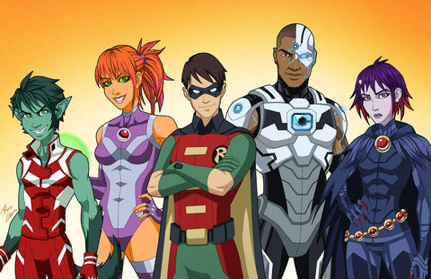 What+I+Think+Of+DC'S+New+Teen+Titans+Show