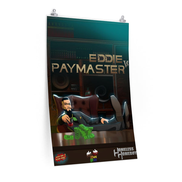 11x17 Eddie vs Paymaster Poster - Hold That Down Bruh Comicverse