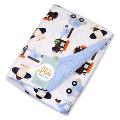 Autumn Winter Blankets Double Layer Swaddles Wraps Infant Bath