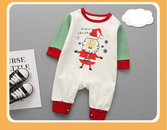 Long Sleeved Cotton Rompers Animal Christmas Costumes Infant Jumpsuit Out