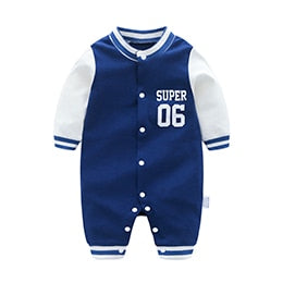 cotton infantis baby clothing romper cartoon costume newborn