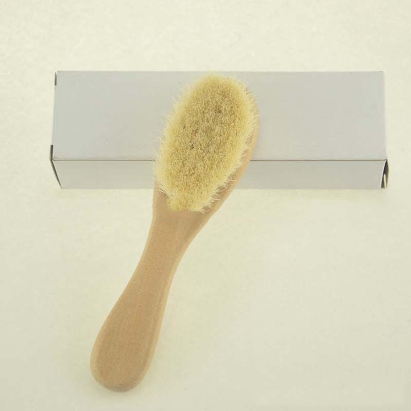 Baby Wooden Hair Brush Wooden Comb