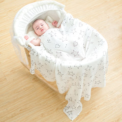 Bamboo Muslin Cotton Baby Swaddles Newborn Blankets Breathable