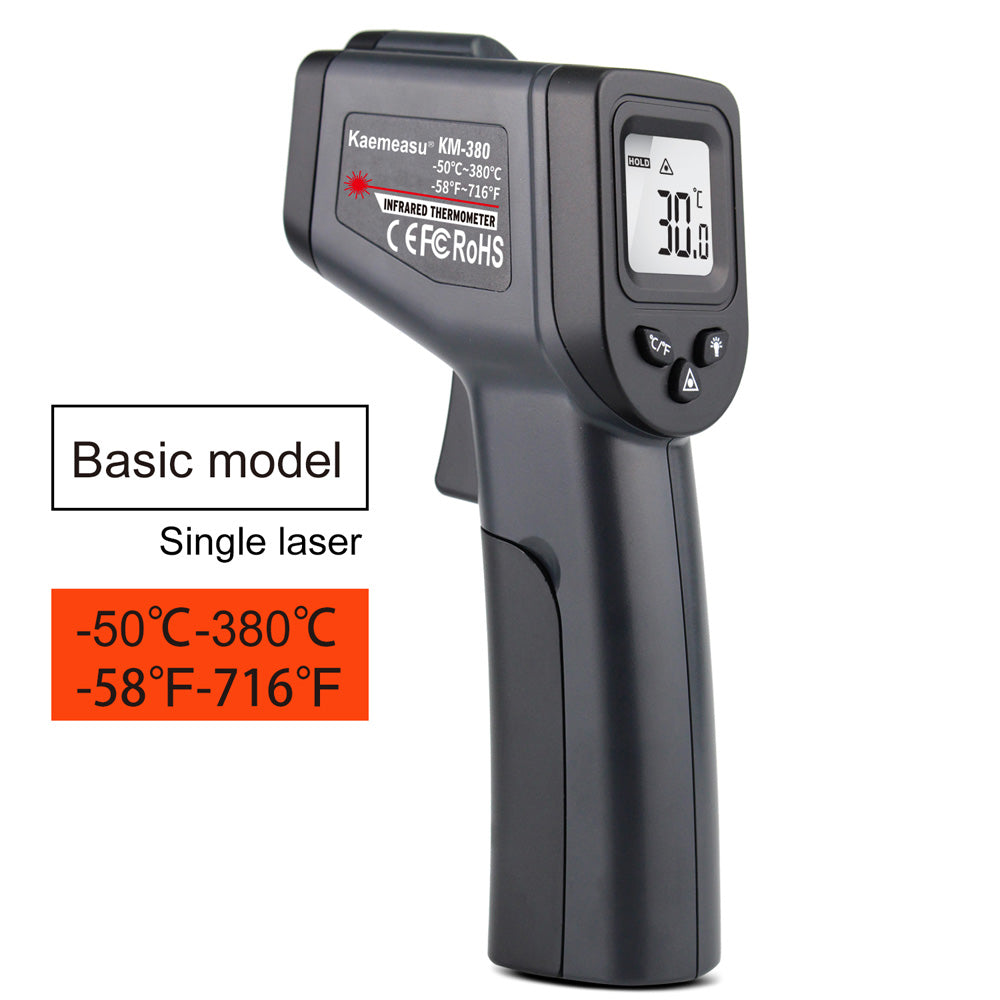 Digital Infrared Thermometer Non-Contact Thermometer Gun