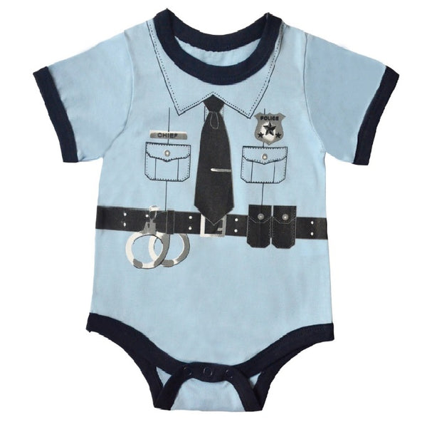 f97dd6dad Doctor baby boy bodysuit short sleeve summer baby clothes for Newborn