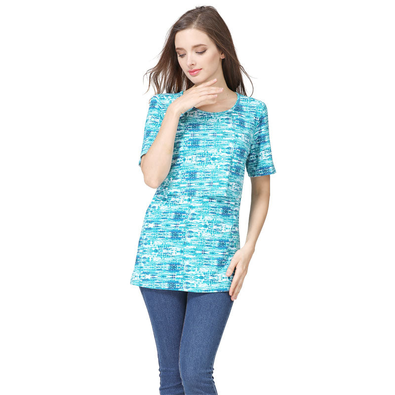 Short Sleeve pregnancy Maternity breastfeeding tops nursing top Clothes