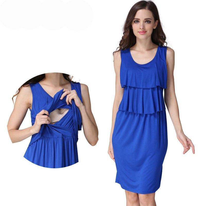 Pregnancy Maternity Clothes Maternity Dress Breastfeeding Dresses