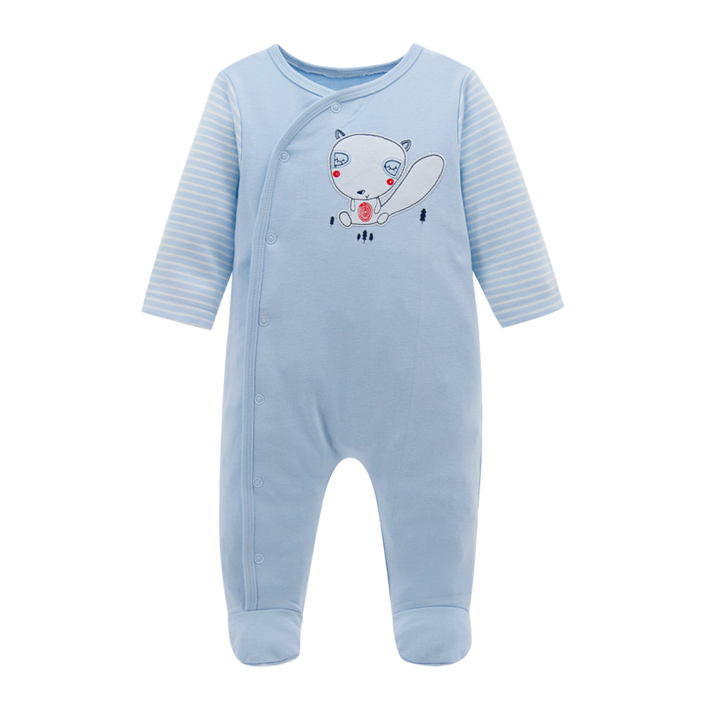4a10bf722d72 Baby Clothes Newborn Long Sleeve Soft One Piece Winter Romper