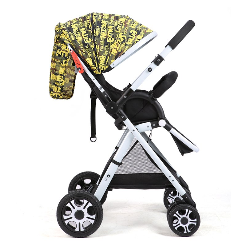 Baby Stroller Lightweight Baby Prams For Newborns High Landscape 2 in1