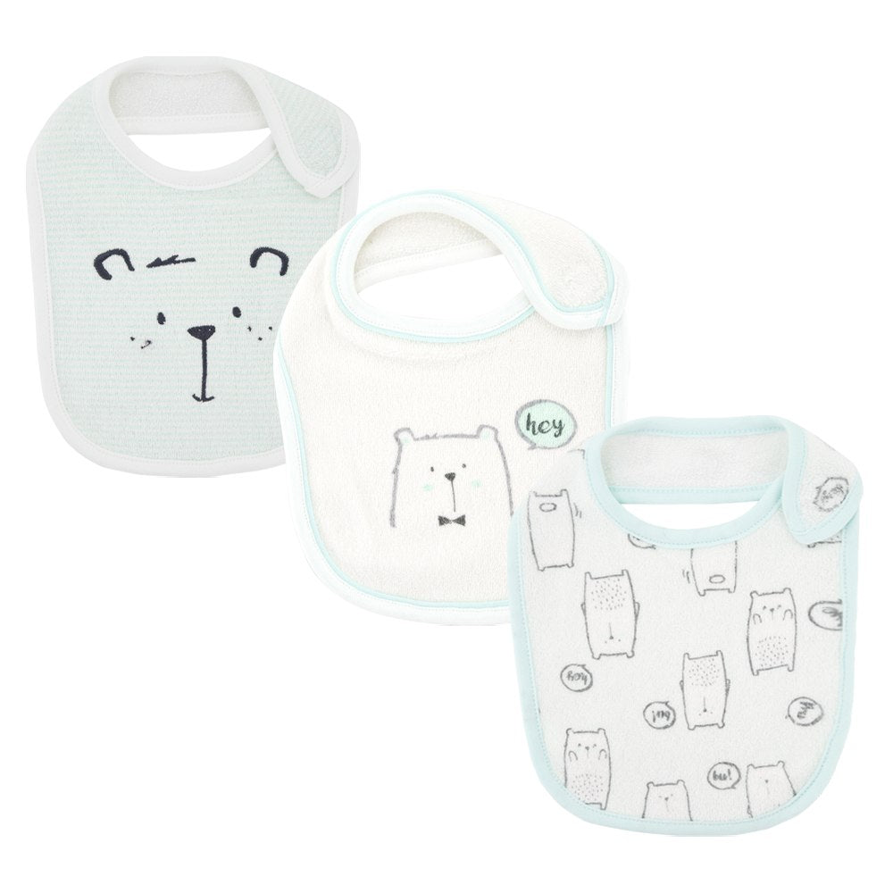 3pcs/lost Baby Bibs Waterproof Newborn Baby Girls boys Bibs