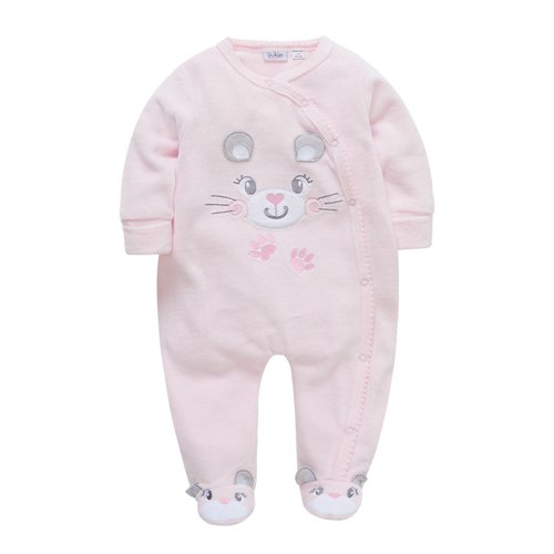 Baby Girls Rompers Long Sleeve bebes Clothing 0-24 Months Newborn