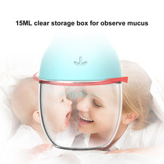 Nasal Aspirator BPA Free Oral Snot Sucker Mucous & Booger Remover Hygienic Baby Nose Suction