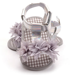 Baby Shoes for Newborn Kids Girl 3 Color Crib Beautiful Flower