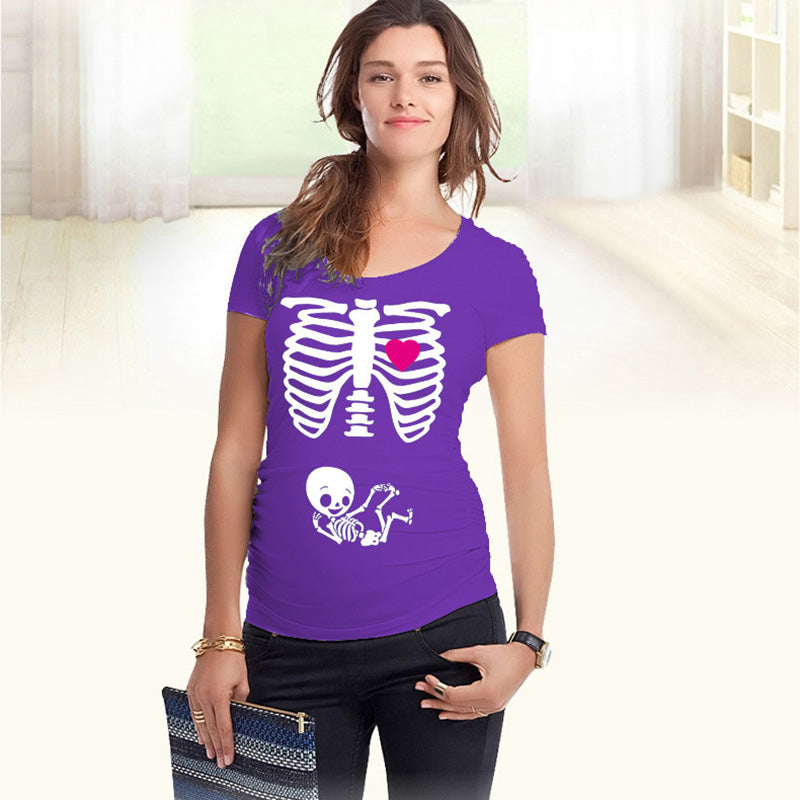 f21c3cb9 Pregnancy shirts 9 colors maternity tops cotton t-shirts