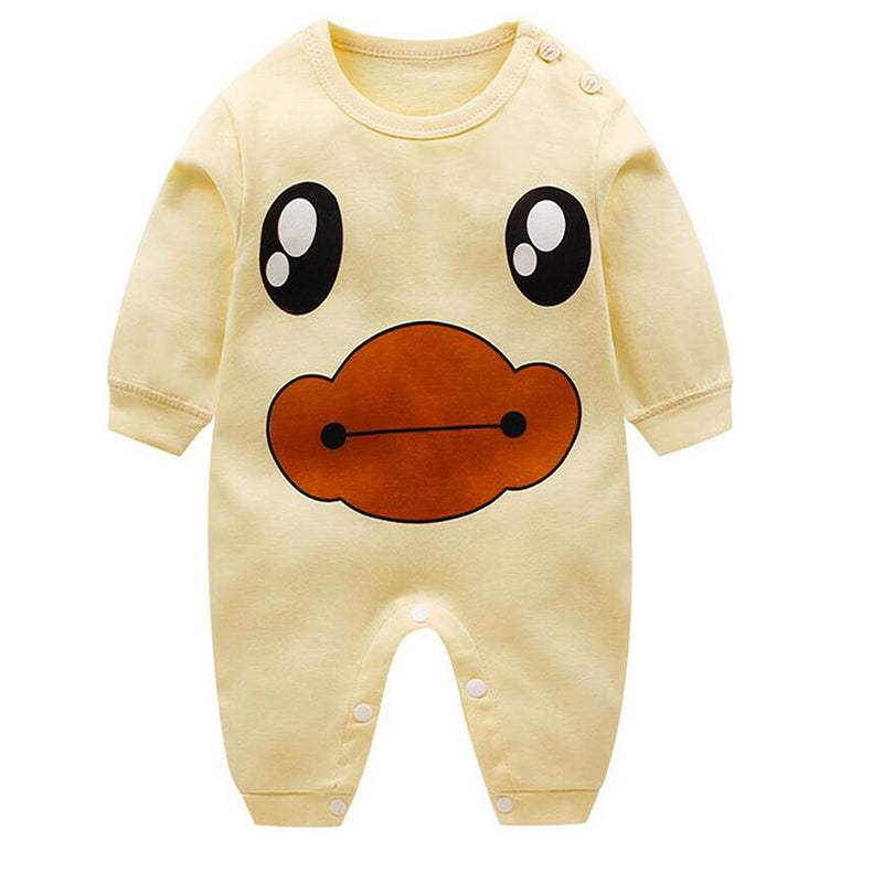 Spring Baby Romper Long Sleeves Baby Girl Clothes Cartoon Newborn Boys Clothing Costume Cotton Overalls for Children Onesie