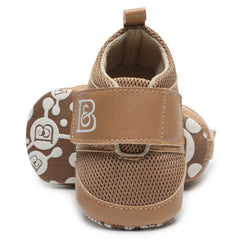 Baby Shoes First Walkers Soft Soled PU Leather Crib Shoes Newborn
