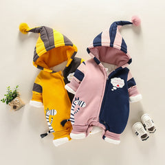 Infant Girls Boys Clothing Toddler Jumpsuit Cute Cartoon zebra