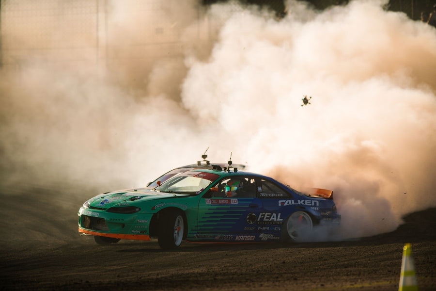 Odi Bakchis continues hot streak after winning Round 2 Formula Drift Orlando!