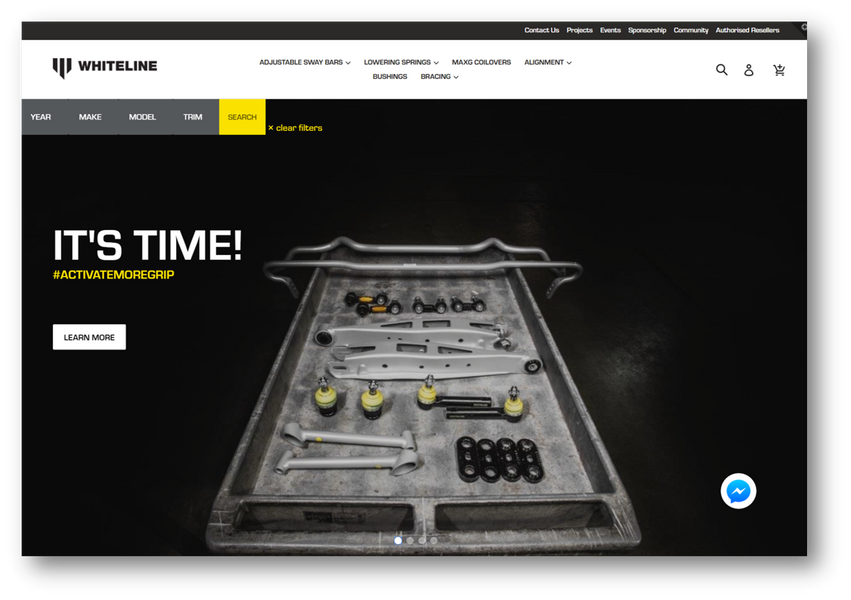 IT'S TIME! WHITELINE launch new website!