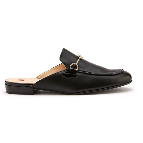 Hogl Black Loafer Slider