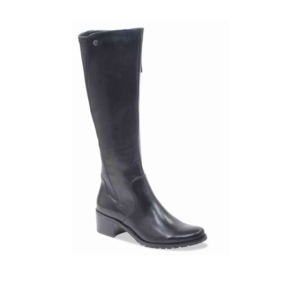 Caprice Stretch Back Knee-high Boot