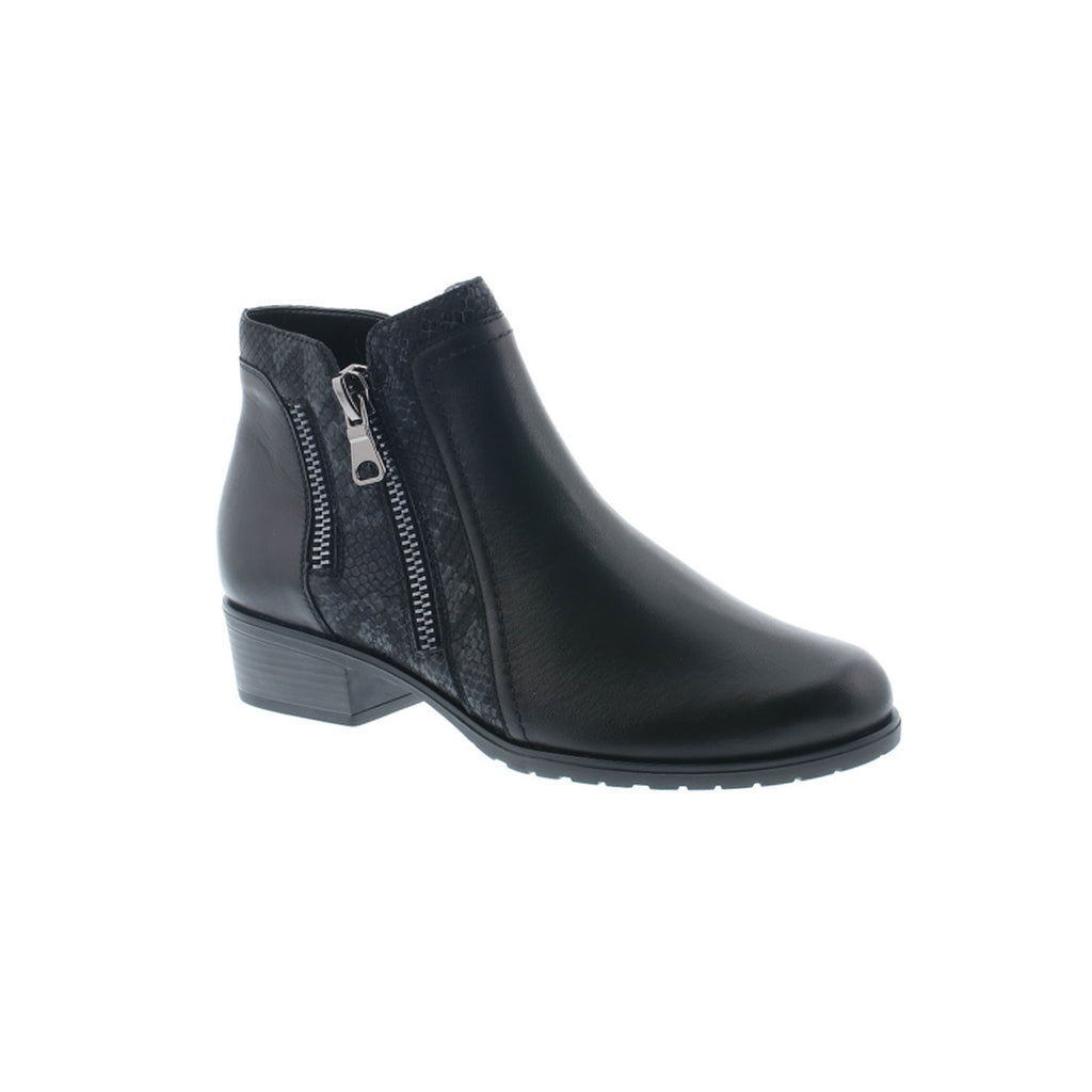 Remonte Zip Detail Ankle Boot