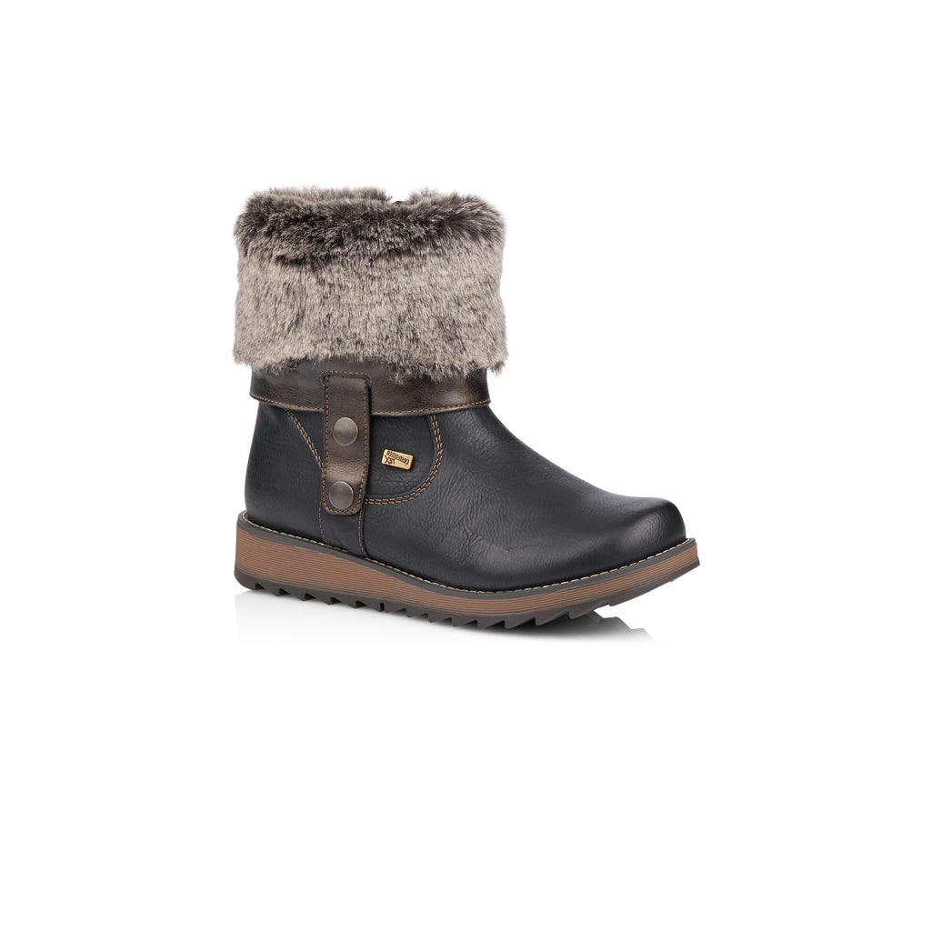 Remonte Fold Over Winter Boot D8874