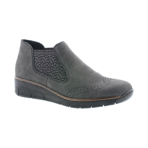 Rieker Grey Ankle Boot
