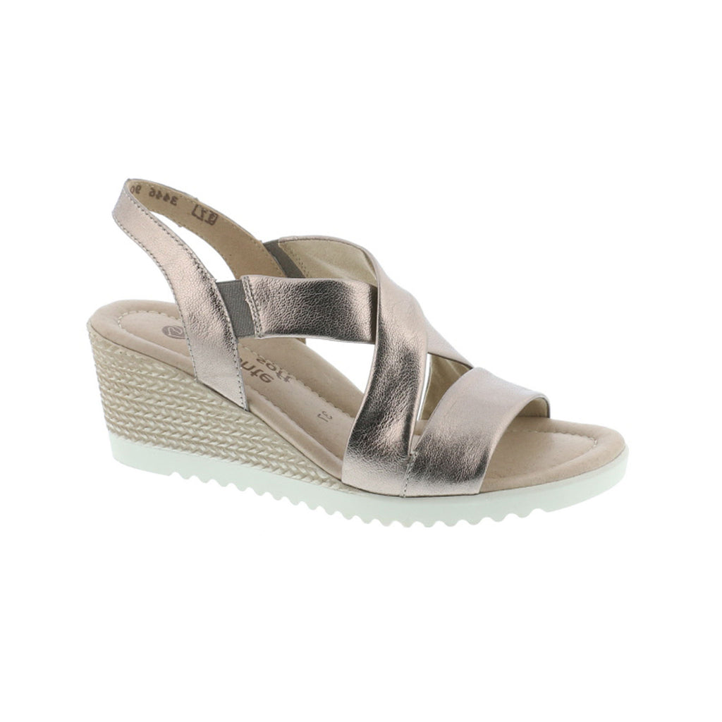 Remonte Wedge Crossover Sandal D3446
