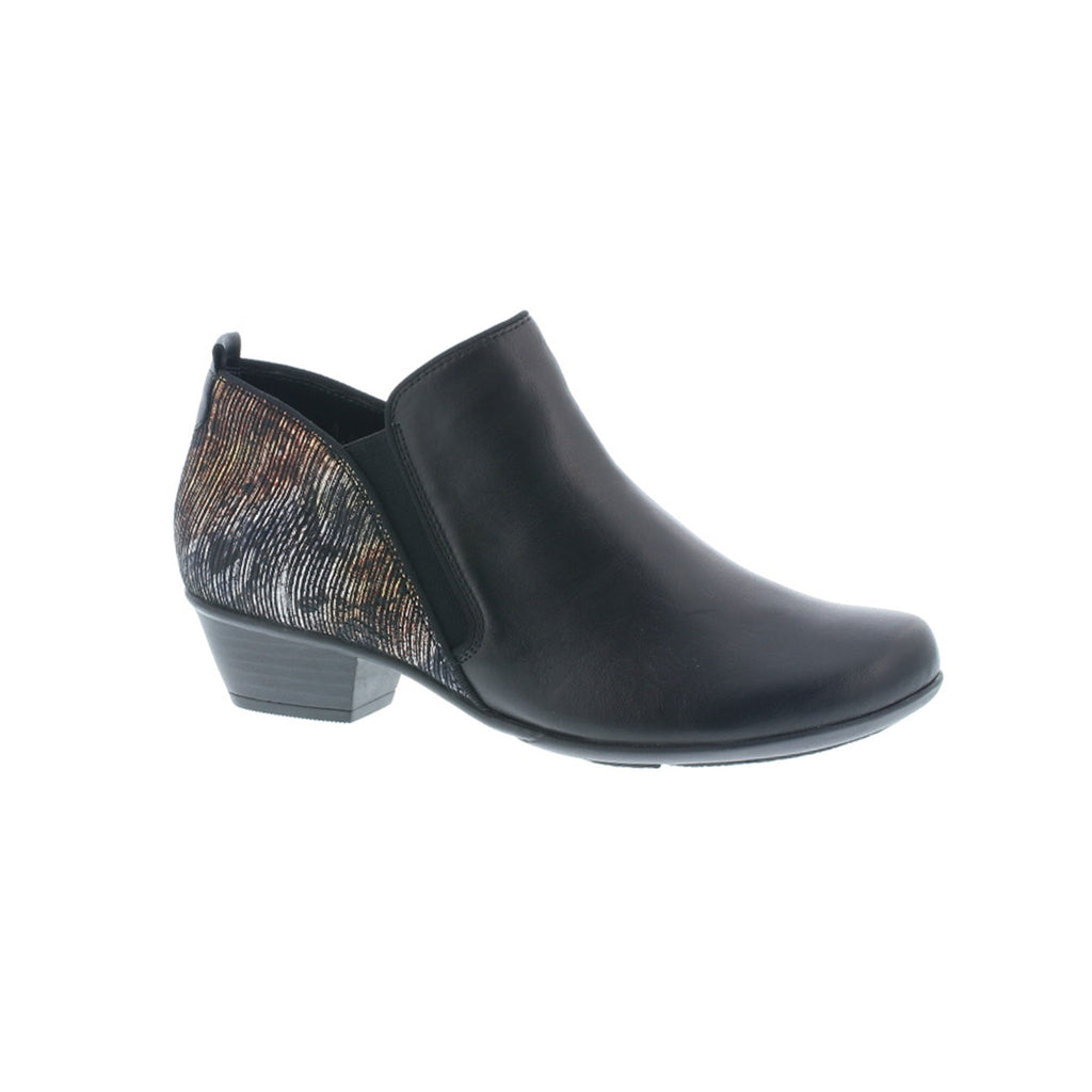 Remonte Pattern Detail Ankle Boot