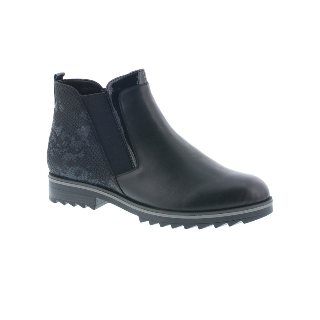 Remonte Black Ankle Boot