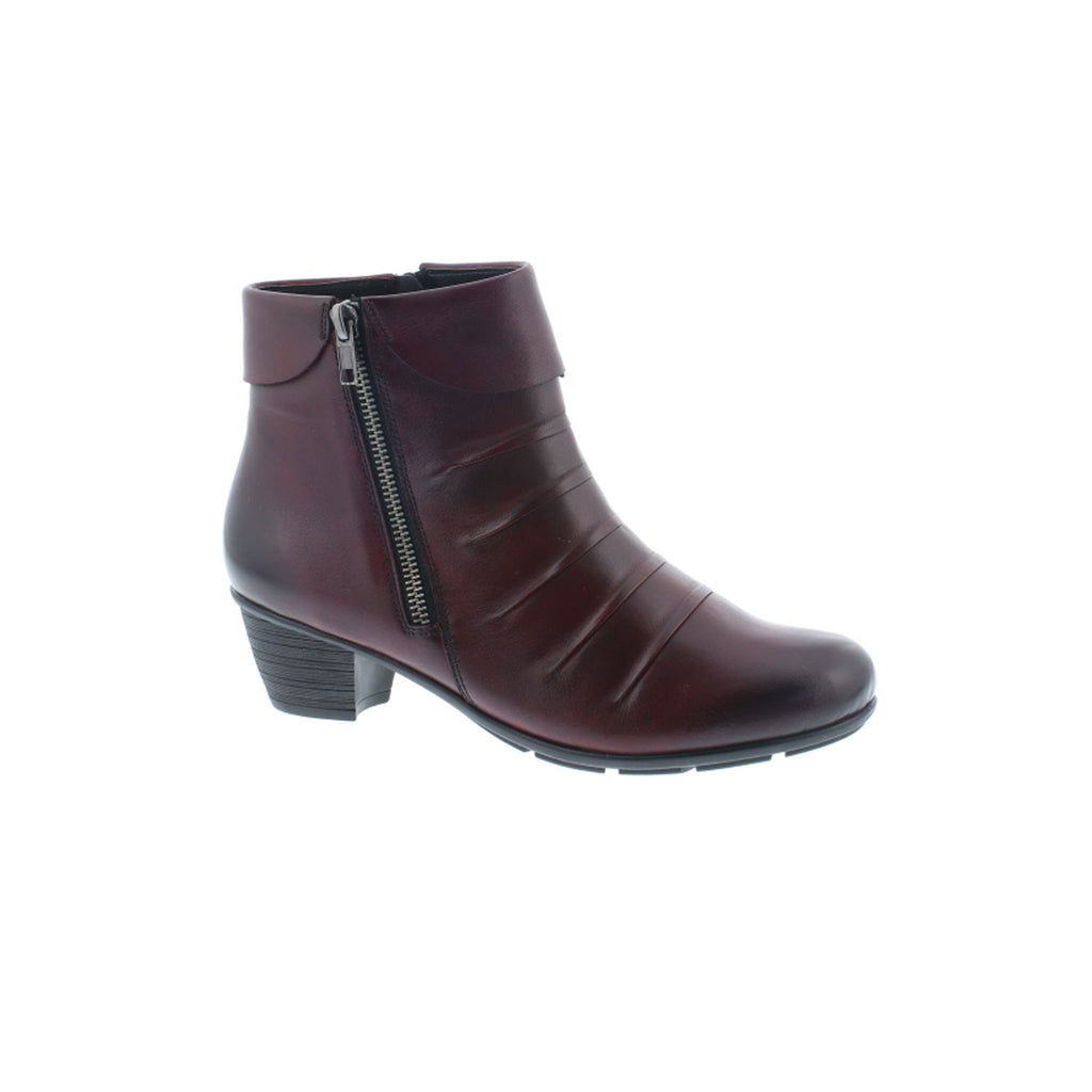 Remonte Ribbed Ankle Boot