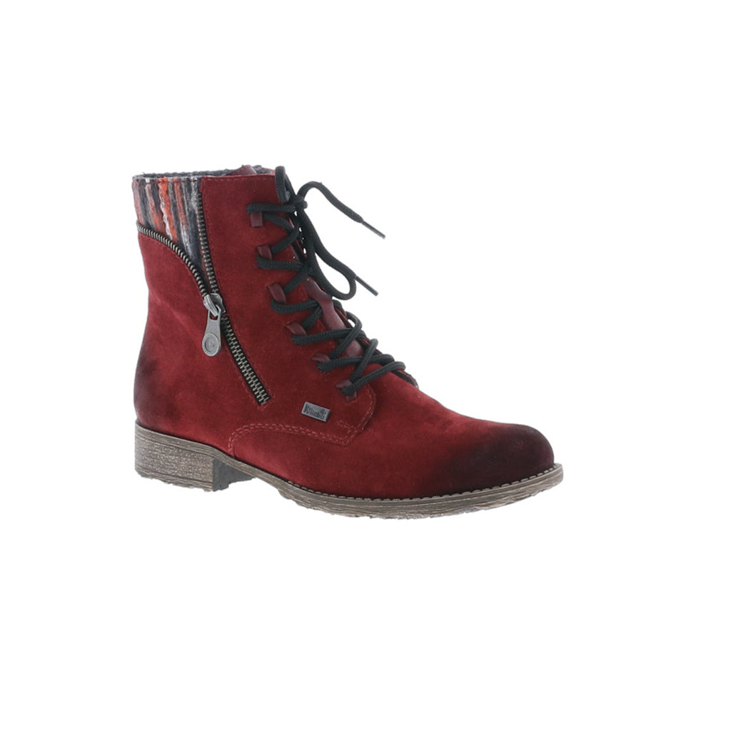Rieker Red Ankle Boot 70840